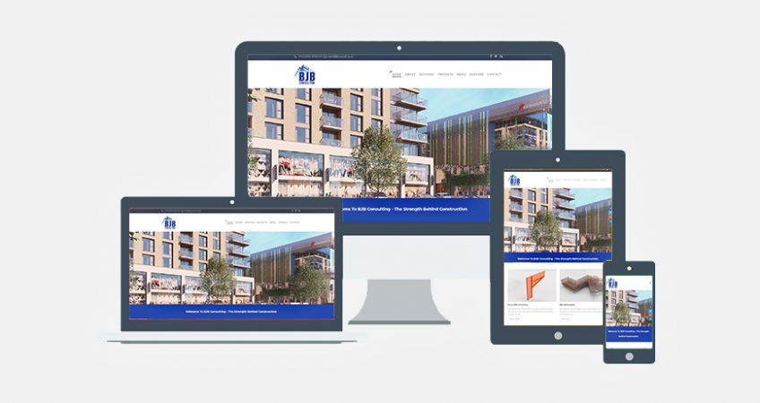 BJB Launch New Website Construction Consultancy