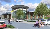 Morrisons Sittingbourne Supermarket Structure Render
